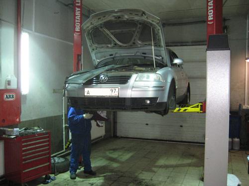Volkswagen ремонт своими руками